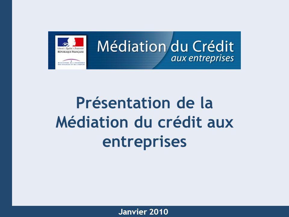 Présentation de la Médiation du crédit aux entreprises