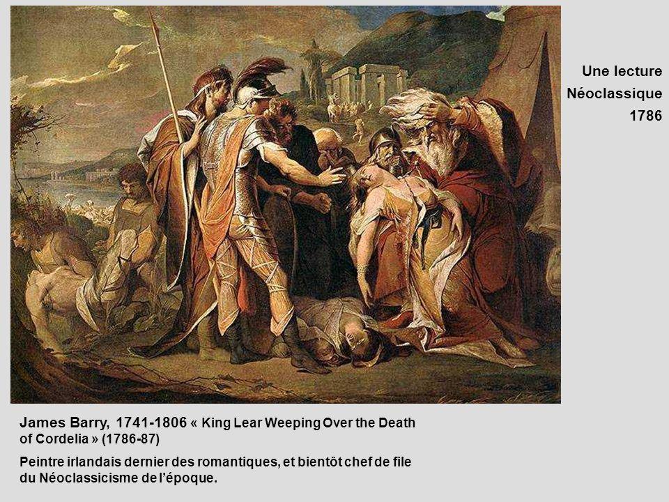 Une lecture Néoclassique 1786