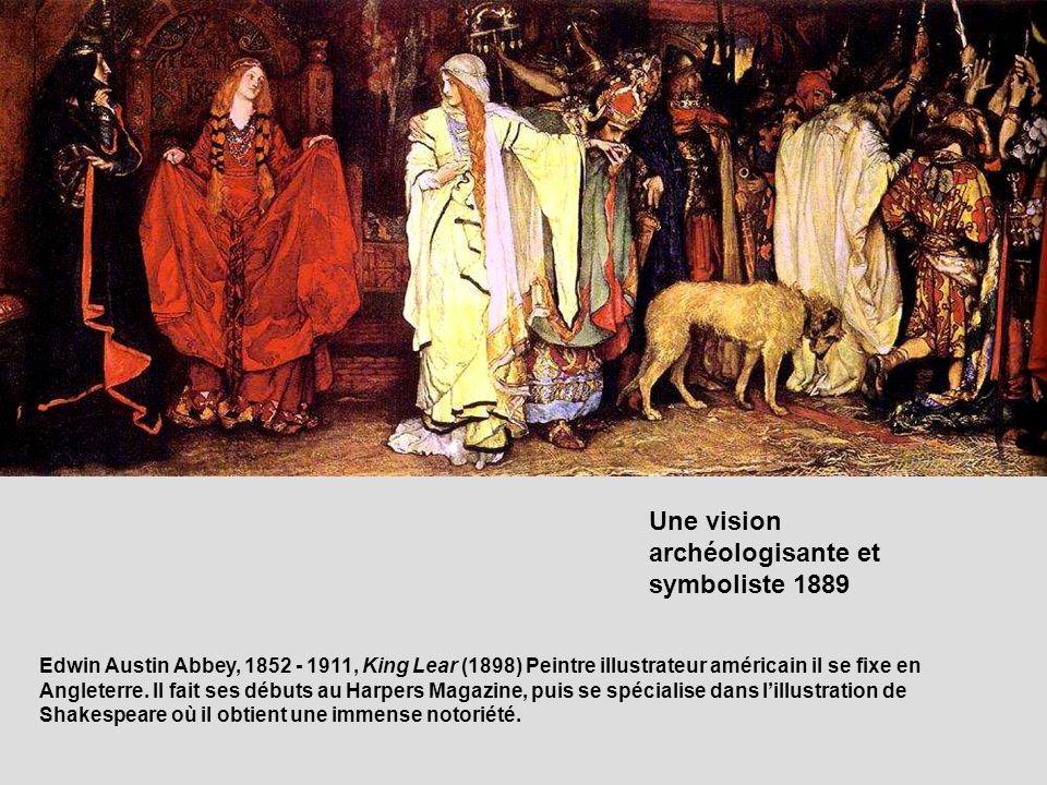 Une vision archéologisante et symboliste 1889