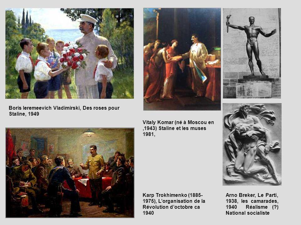 Boris Ieremeevich Vladimirski, Des roses pour Staline, 1949