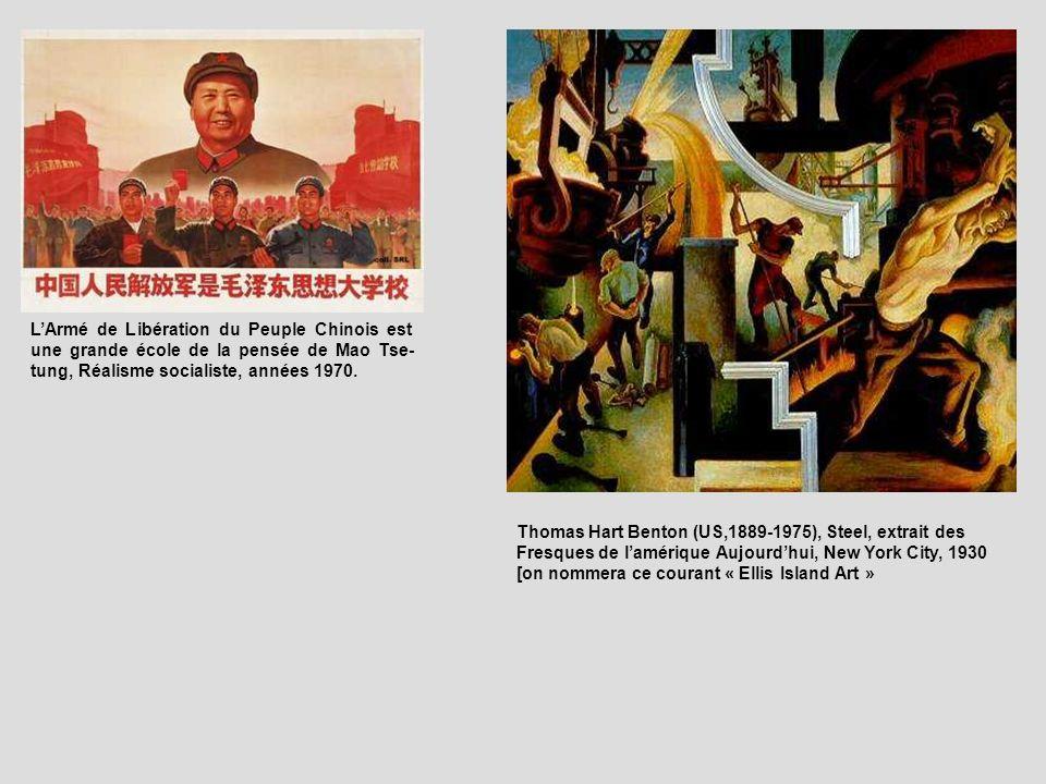 L'Armé de Libération du Peuple Chinois est une grande école de la pensée de Mao Tse-tung, Réalisme socialiste, années 1970.