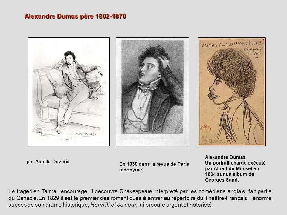 Alexandre Dumas père 1802-1870