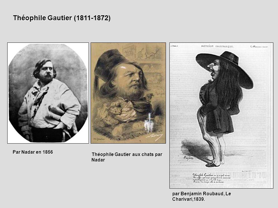 Théophile Gautier (1811-1872) Par Nadar en 1856