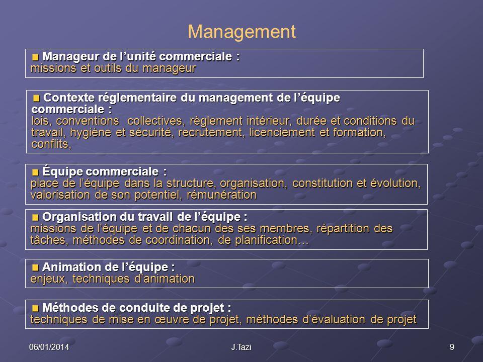 Management Manageur de l'unité commerciale : missions et outils du manageur.