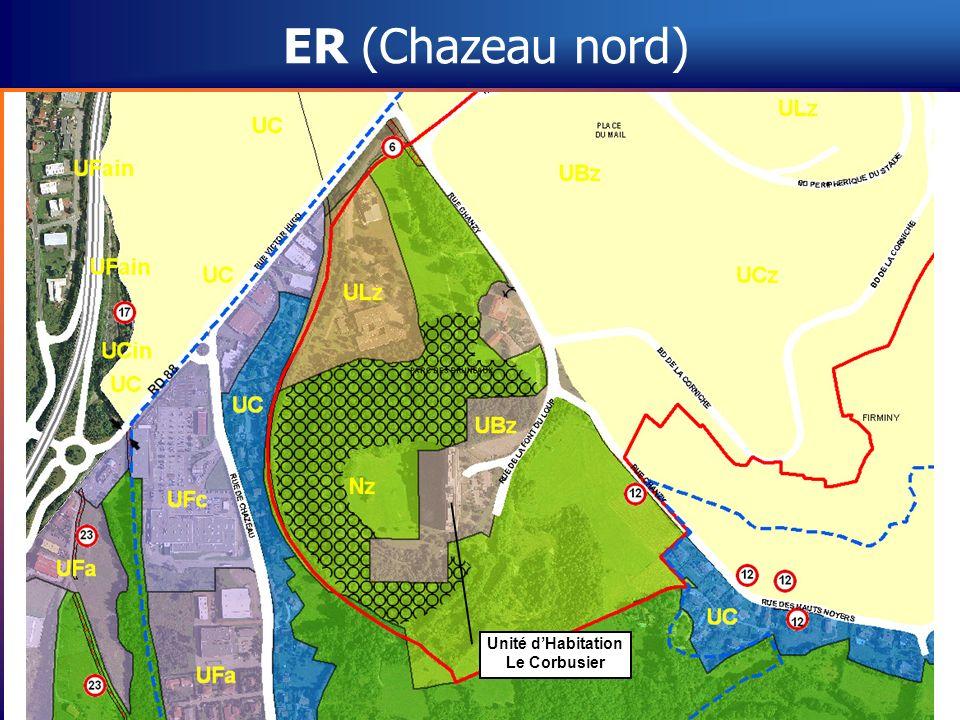 ER (Chazeau nord) Unité d'Habitation Le Corbusier