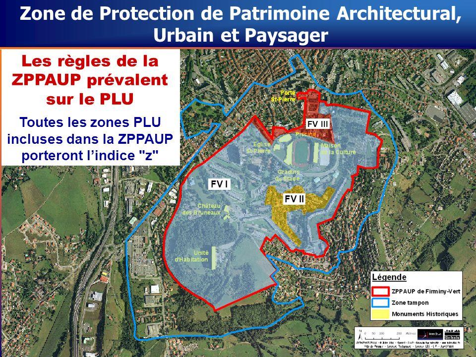 Zone de Protection de Patrimoine Architectural, Urbain et Paysager