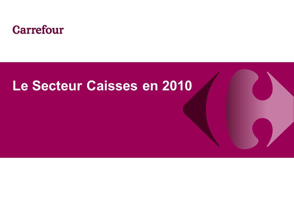 1 Le Secteur Caisses en 2010
