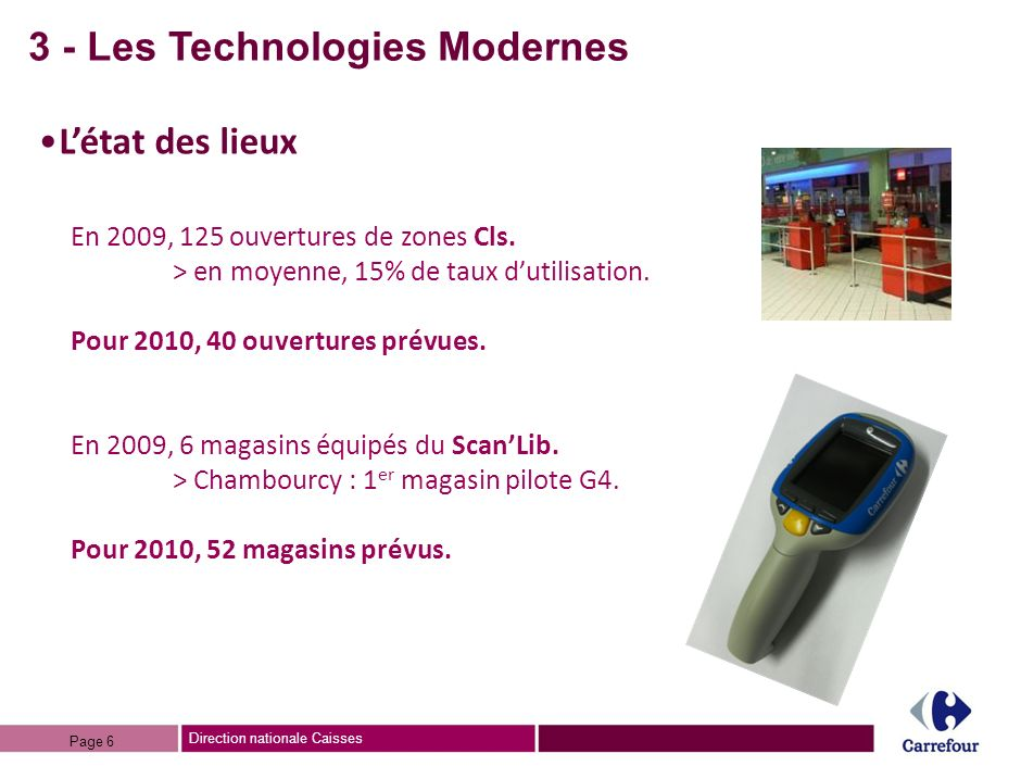 3 - Les Technologies Modernes