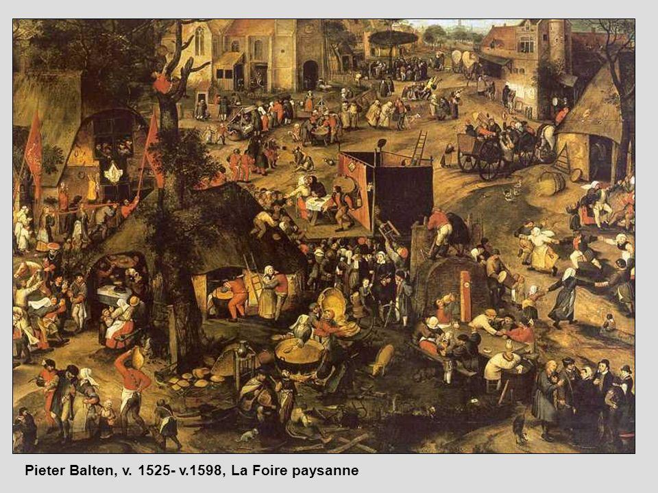 Pieter Balten, v. 1525- v.1598, La Foire paysanne
