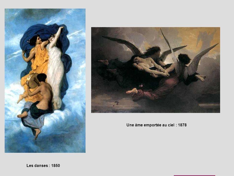 Une âme emportée au ciel : 1878