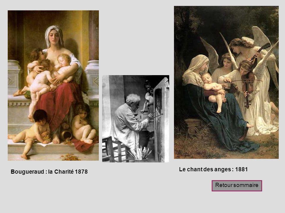 Le chant des anges : 1881 Bougueraud : la Charité 1878 Retour sommaire