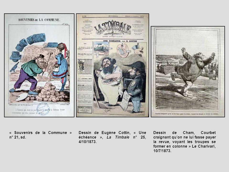 « Souvenirs de la Commune » n° 21, sd.