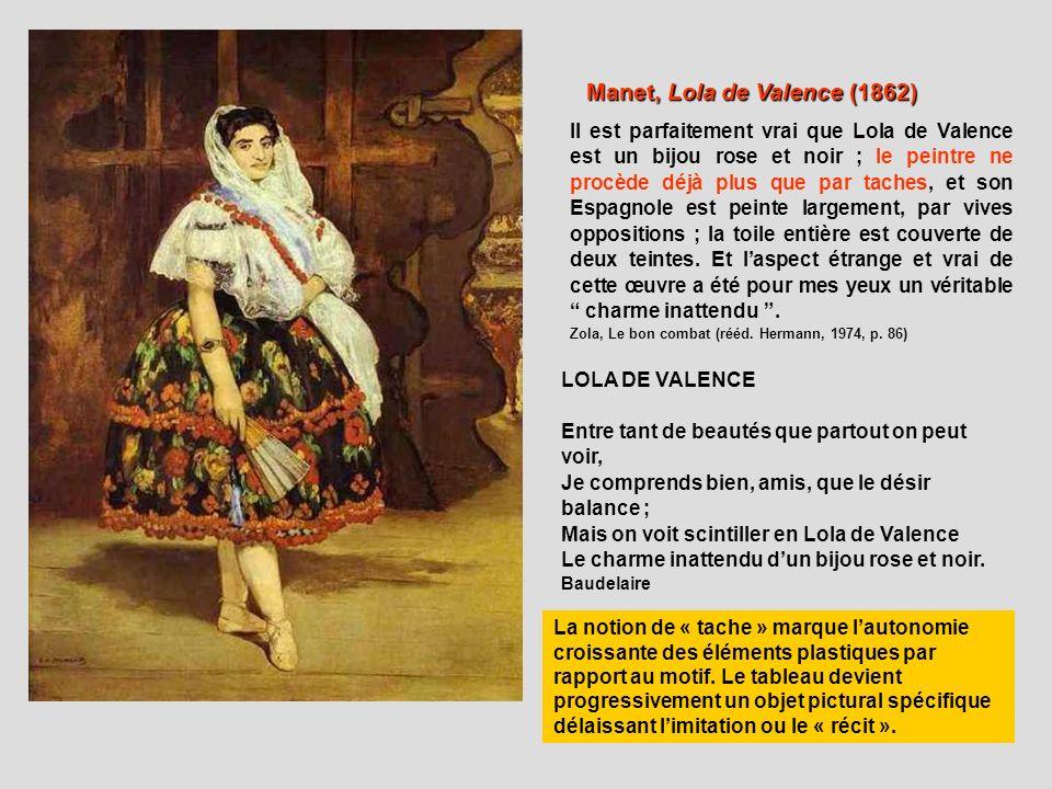 Manet, Lola de Valence (1862)