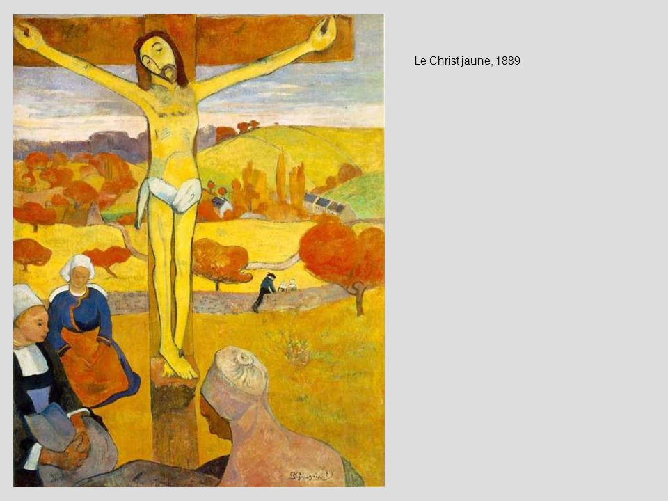 Le Christ jaune, 1889