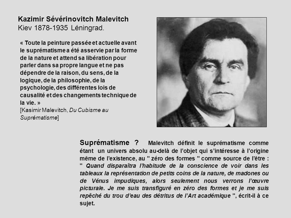 Kazimir Sévérinovitch Malevitch Kiev 1878-1935 Léningrad.