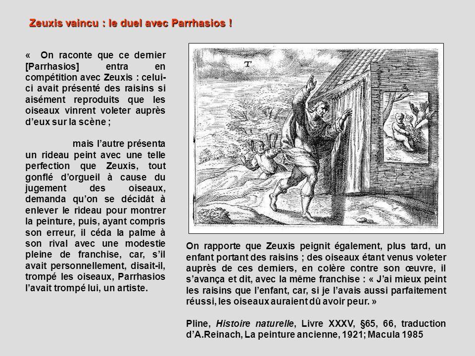 Zeuxis vaincu : le duel avec Parrhasios !