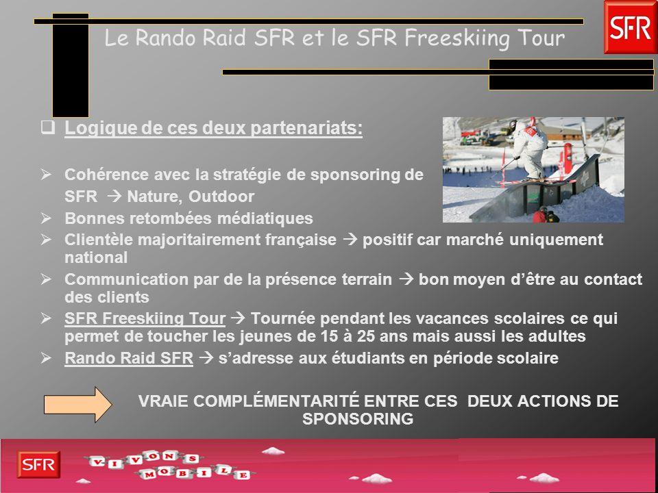 Le Rando Raid SFR et le SFR Freeskiing Tour