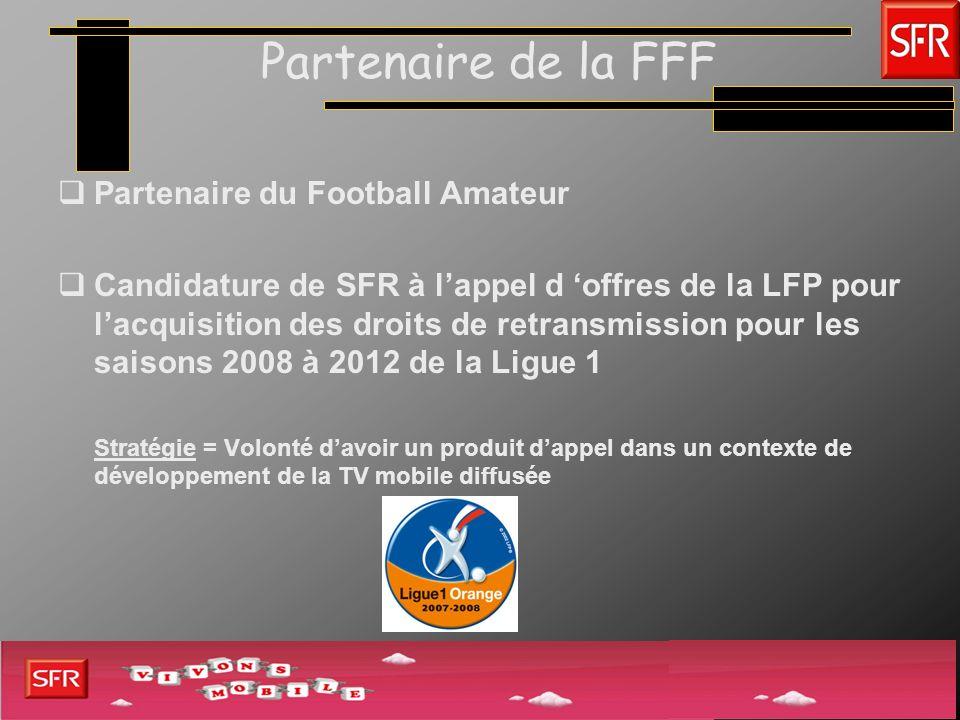 Partenaire de la FFF Partenaire du Football Amateur