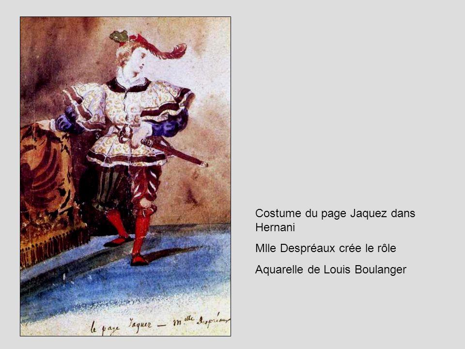 Costume du page Jaquez dans Hernani