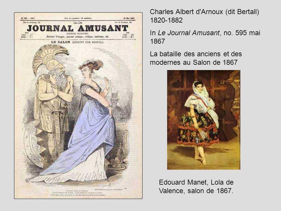 Charles Albert d Arnoux (dit Bertall) 1820-1882