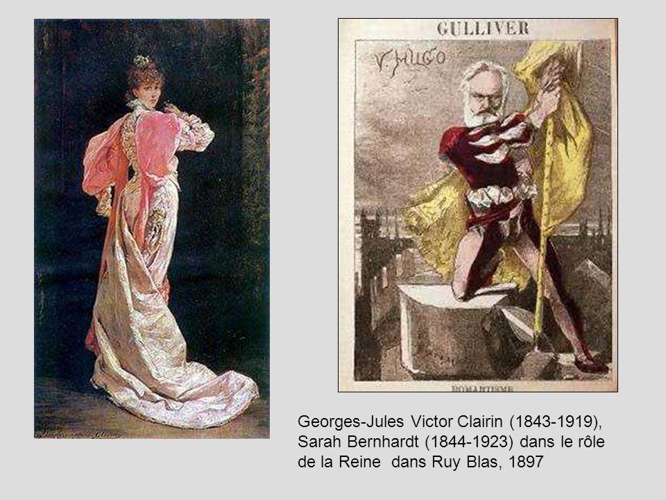 Georges-Jules Victor Clairin (1843-1919), Sarah Bernhardt (1844-1923) dans le rôle de la Reine dans Ruy Blas, 1897