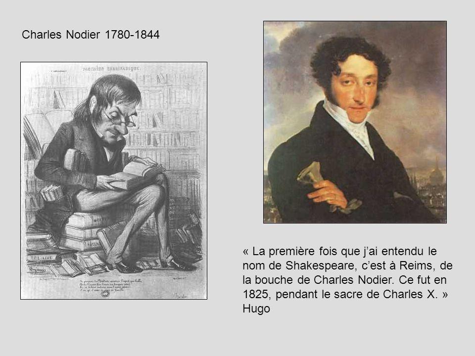 Charles Nodier 1780-1844