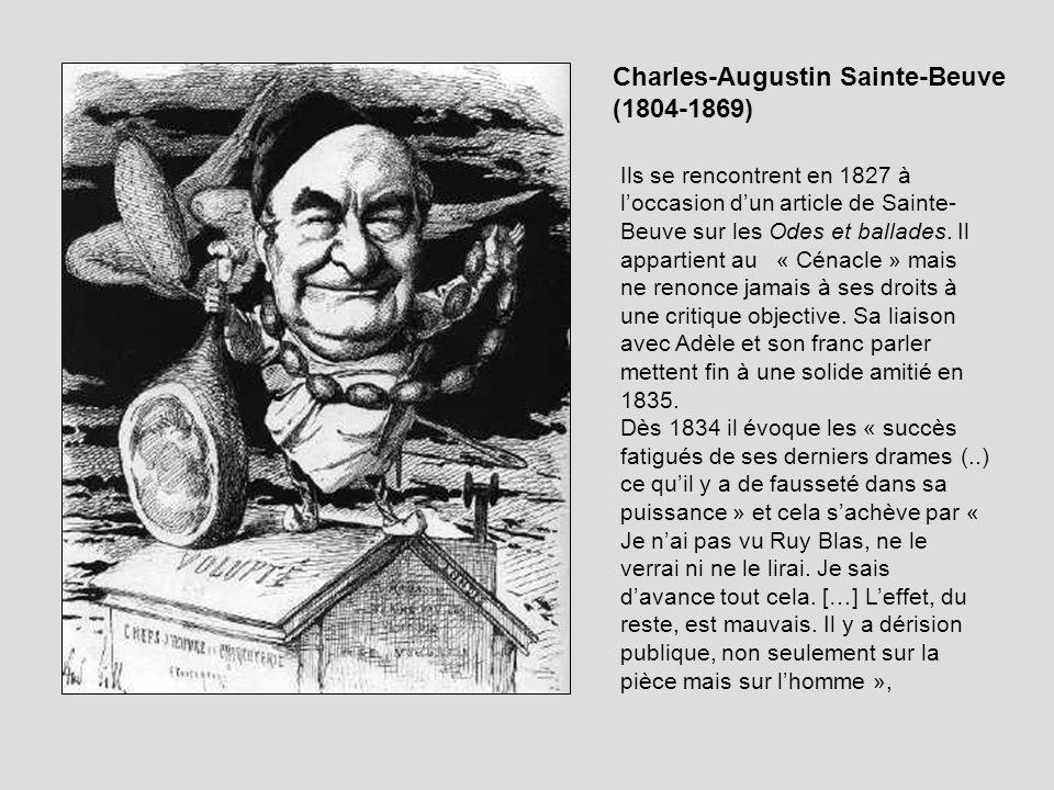 Charles-Augustin Sainte-Beuve (1804-1869)