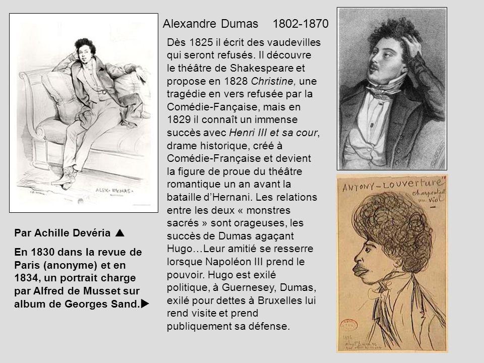 Alexandre Dumas 1802-1870