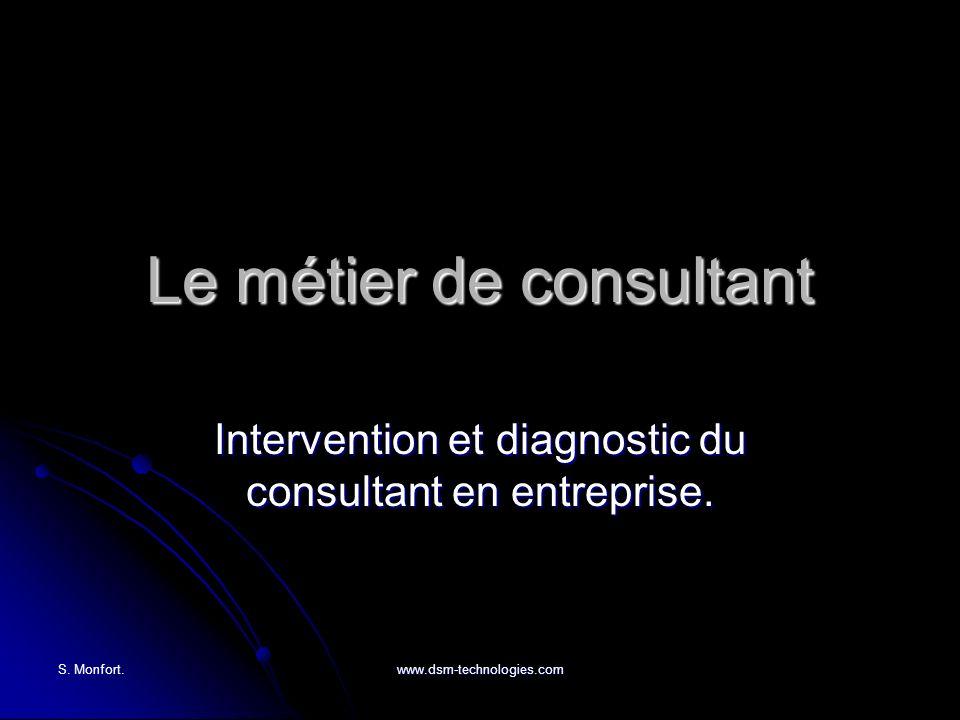 Le métier de consultant