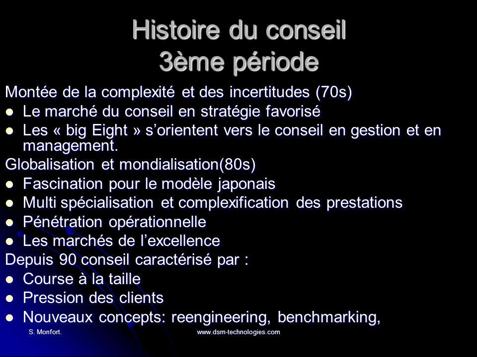 Histoire du conseil 3ème période