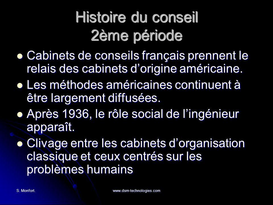 Histoire du conseil 2ème période