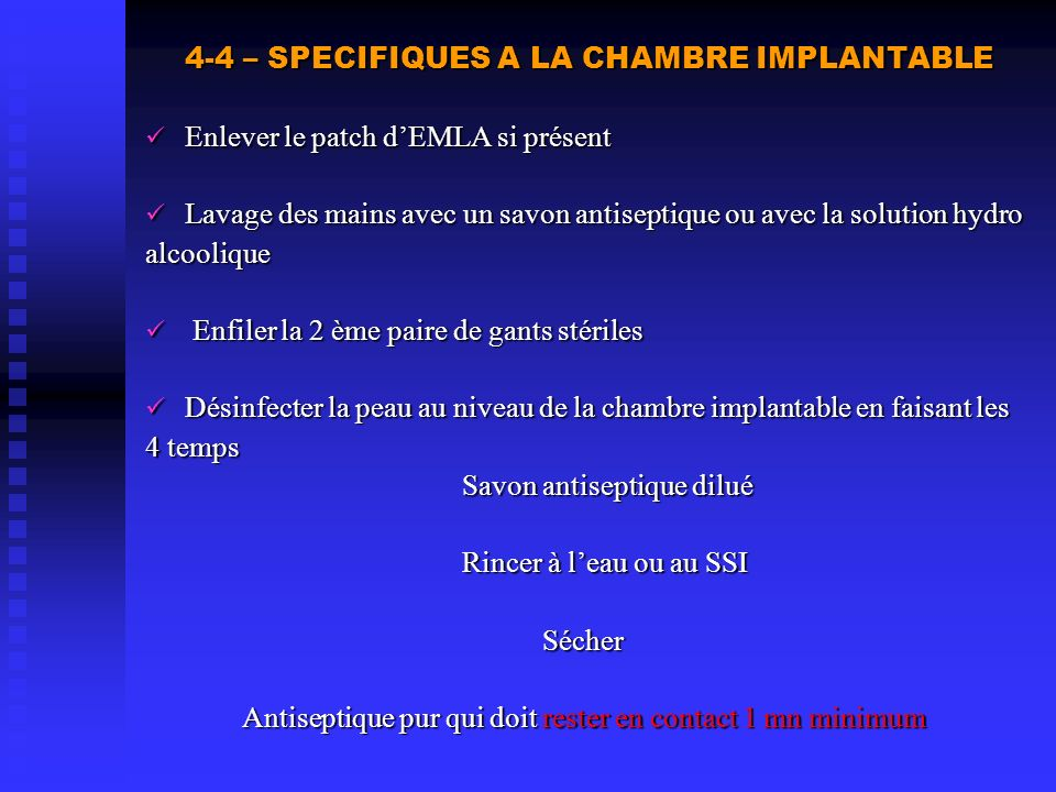 Antiseptique pur qui doit rester en contact 1 mn minimum