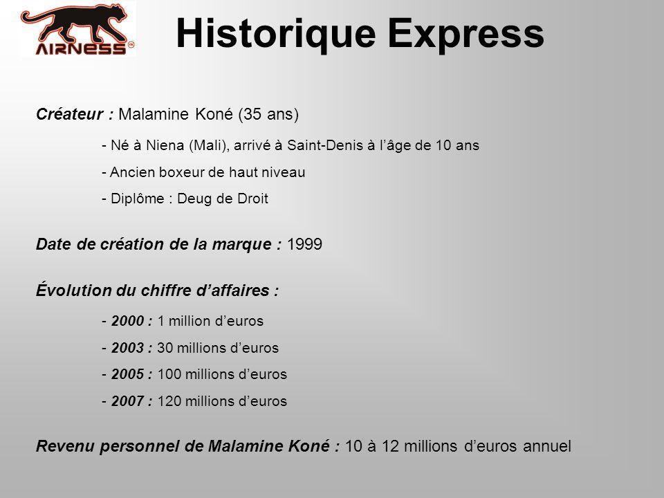 Historique Express Créateur : Malamine Koné (35 ans)