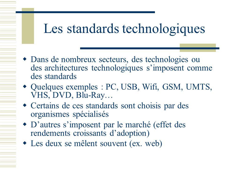 Les standards technologiques