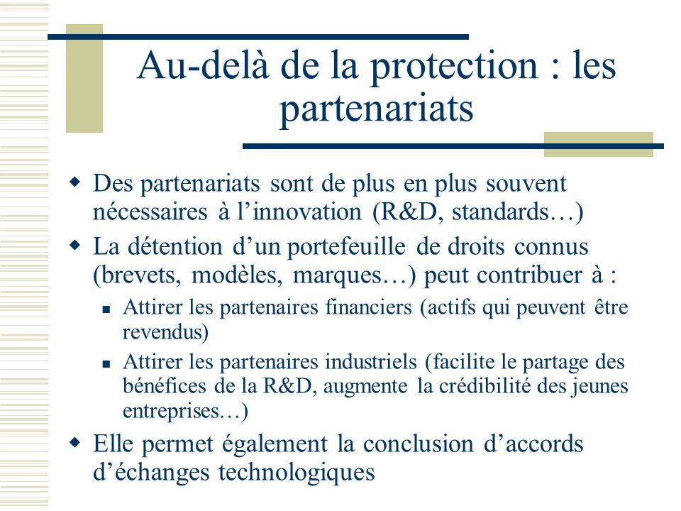 Au-delà de la protection : les partenariats