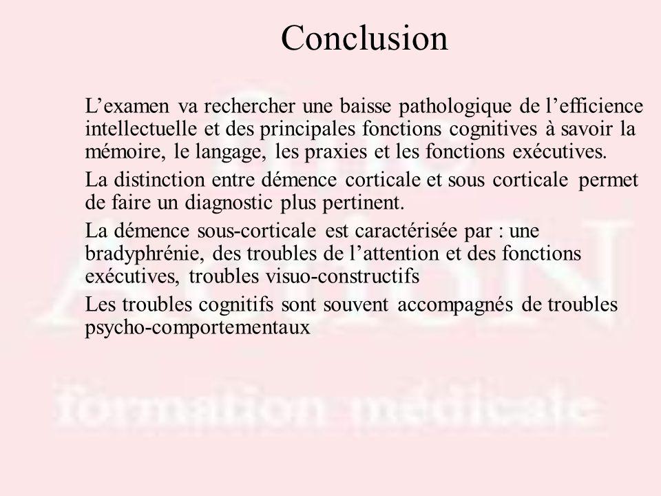 Drs S.LOTTON & R.THIRIONConclusion.