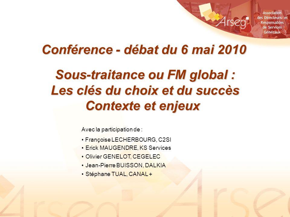 Conférence - débat du 6 mai 2010