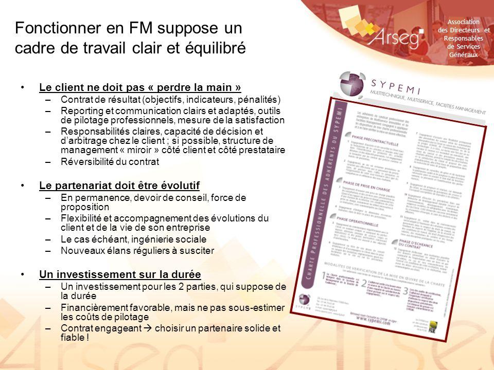 Fonctionner en FM suppose un cadre de travail clair et équilibré