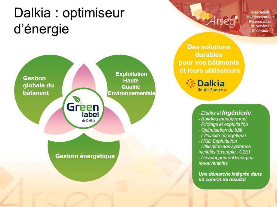 Des solutions durables pour vos bâtiments et leurs utilisateurs