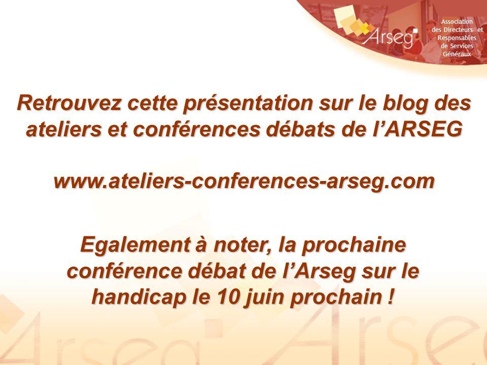 Retrouvez cette présentation sur le blog des ateliers et conférences débats de l'ARSEG
