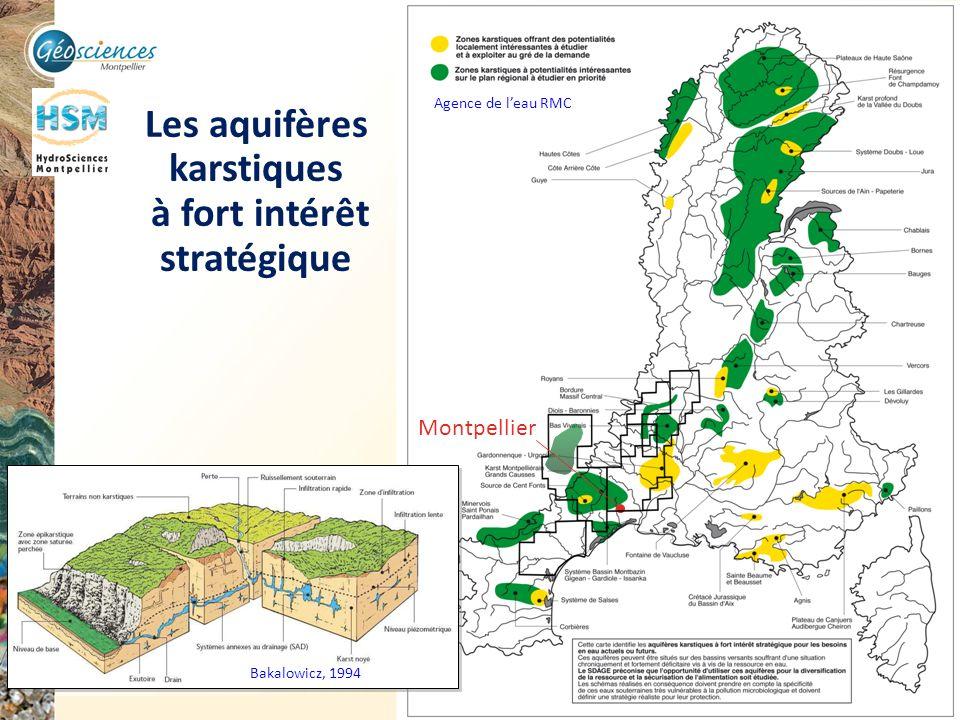 Les aquifères karstiques à fort intérêt stratégique