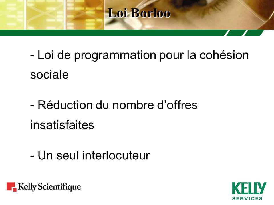 Loi Borloo - Loi de programmation pour la cohésion sociale