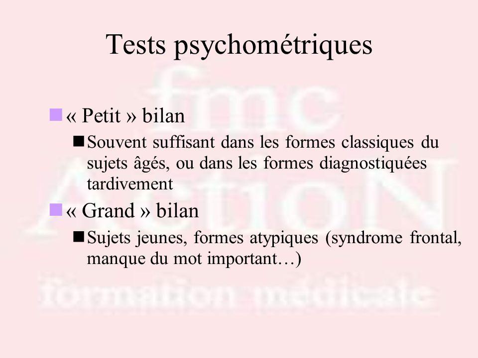 Tests psychométriques