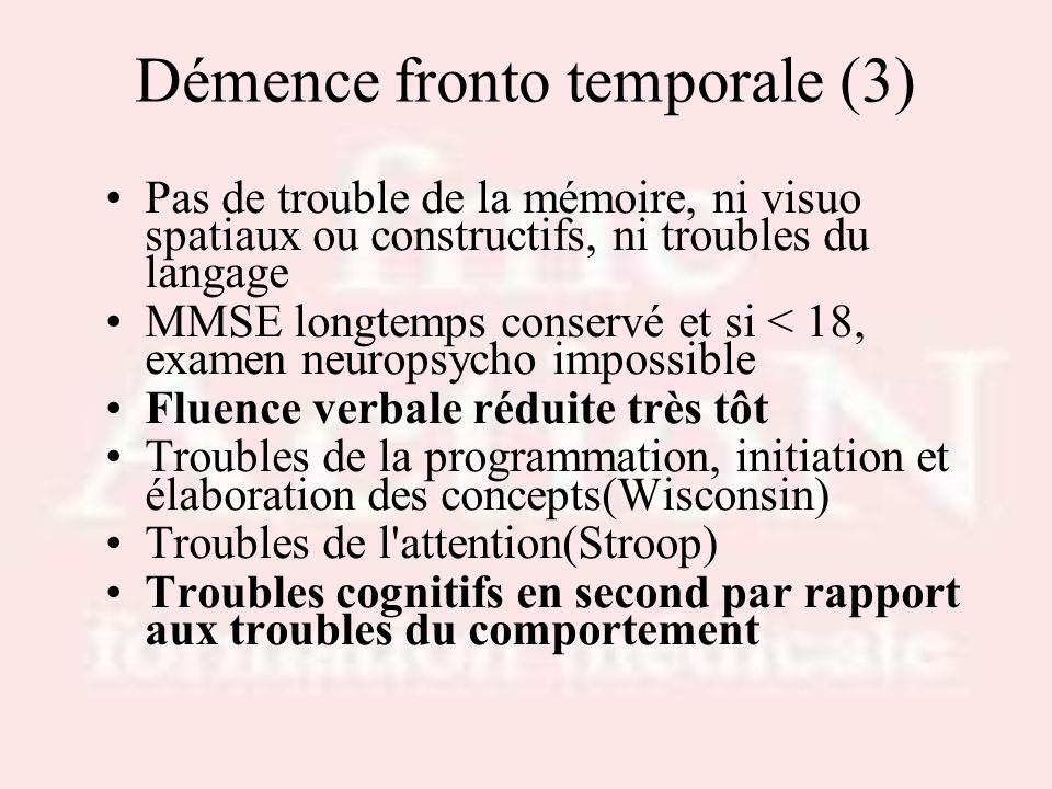 Démence fronto temporale (3)