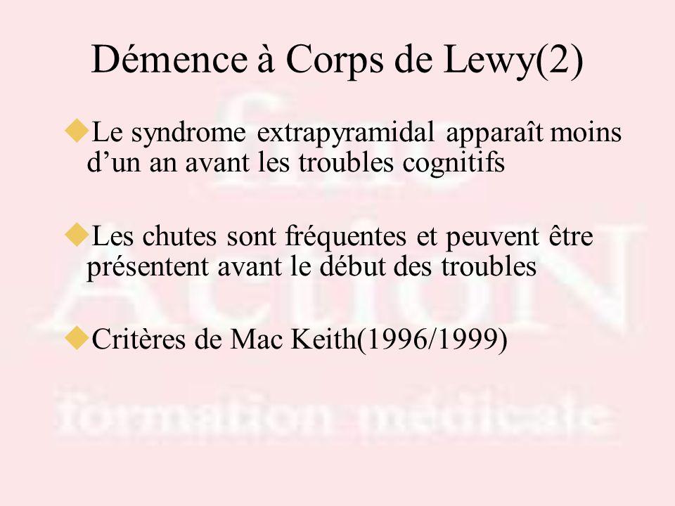 Démence à Corps de Lewy(2)