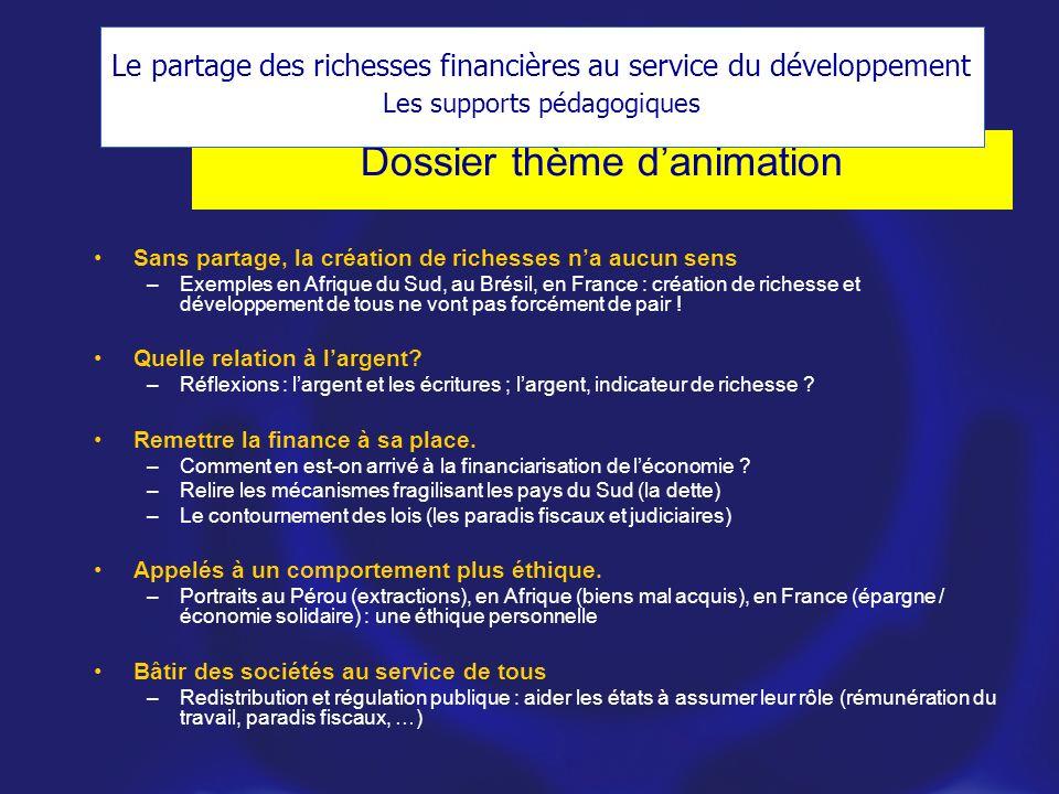 Dossier thème d'animation