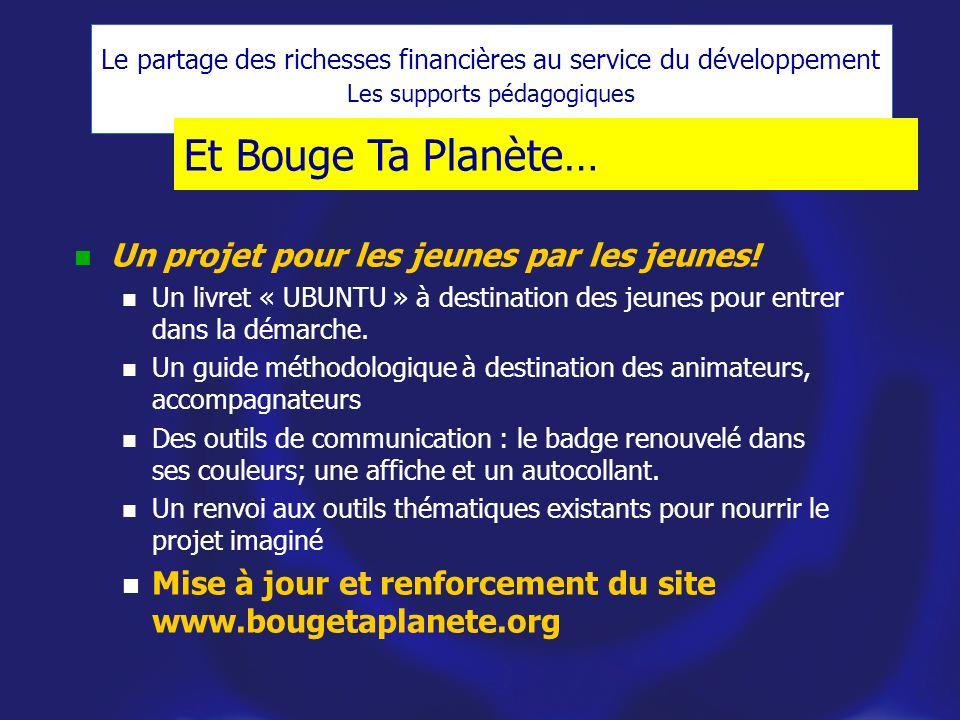 Et Bouge Ta Planète… Un projet pour les jeunes par les jeunes!