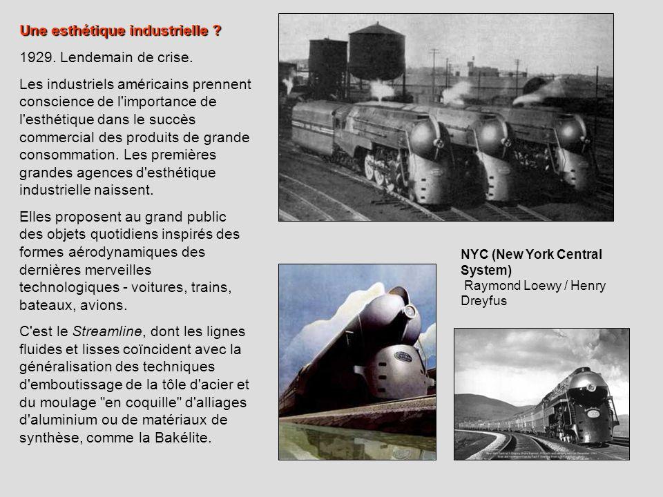 Une esthétique industrielle 1929. Lendemain de crise.