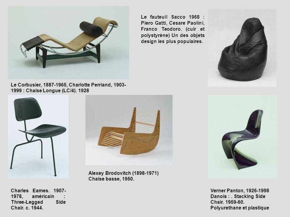 Le fauteuil Sacco 1968 : Piero Gatti, Cesare Paolini, Franco Teodoro