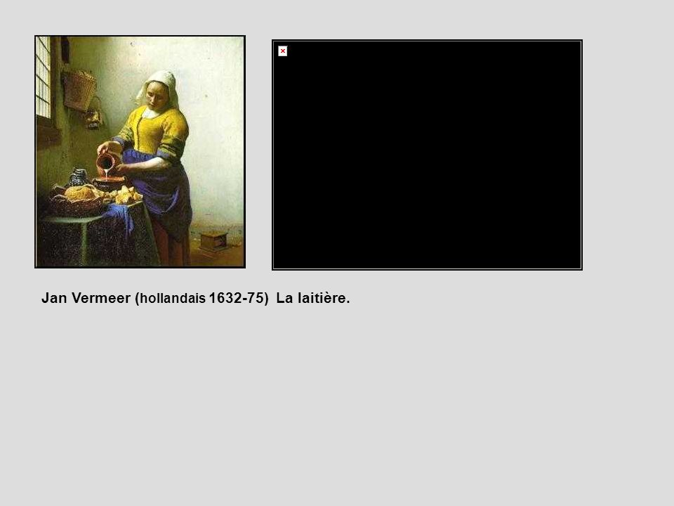 Jan Vermeer (hollandais 1632-75) La laitière.